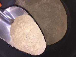 Cenizas procedentes de la combustión de pellets
