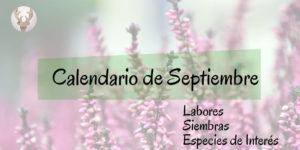 Calendario de septiembre