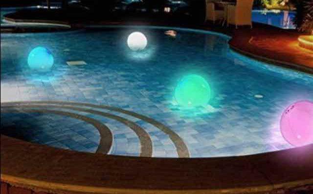 iluminacion piscina