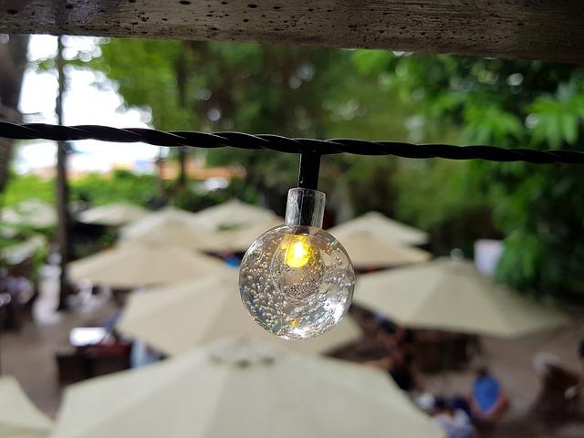 Luces solares jardín